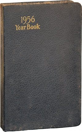Diary of early Treasury Department Agent Kenneth T. Brown, Jr., 1956. U S. Treasury Department,...