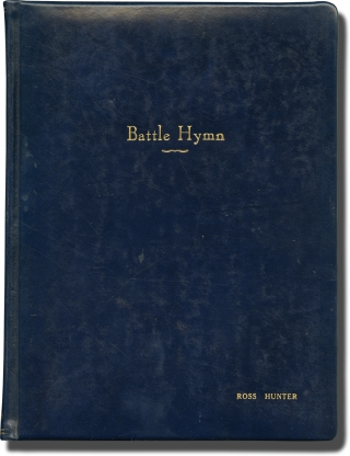 Battle Hymn (Original screenplay for the 1957 film). Douglas Sirk, Vincent B. Evans Charles...