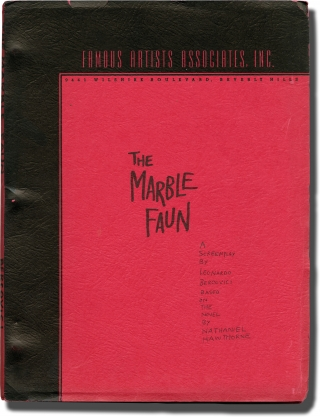 The Marble Faun (Original screenplay for an unproduced film). Leonardo Bercovici, Nathaniel...