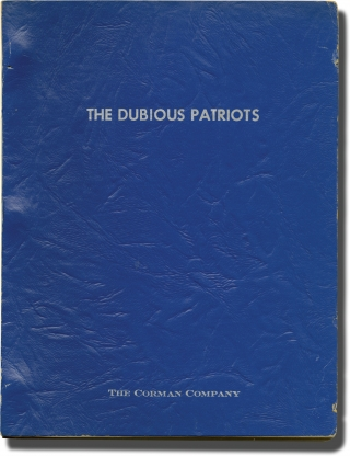 You Can't Win 'Em All [Dubious Patriots] (Original screenplay for the 1970 film). Charles...