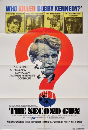 The Second Gun (Original poster for the 1973 film). Robert F. Kennedy, Gerard Alcan, director