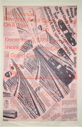 Tenth Annual New York Avant Garde Festival (Original Poster). Jim McWilliams