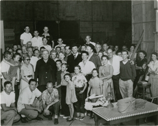 The Night of the Hunter (Original photograph from the 1955 film). Charles Laughton, Davis Grubb,...