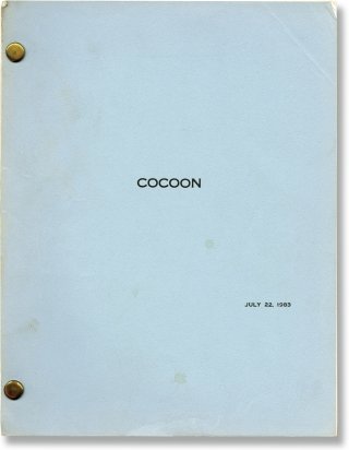 Cocoon (Original screenplay for the 1985 film). Ron Howard, Tom Benedek, Wilfred Brimley Dom...