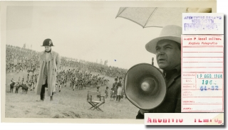 War and Peace [Voyna i mir] (Two original photographs from the set of the 1966-1967 film series)....