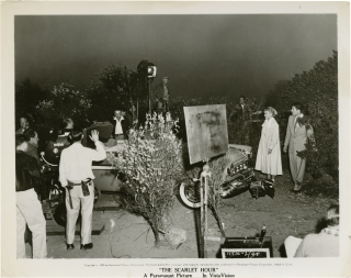 The Scarlet Hour (Original photograph from the set of the 1956 film). Michael Curtiz, Frank...