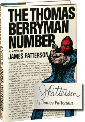 The Thomas Berryman Number (Signed First Edition). James Patterson