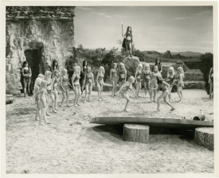 Prehistoric Women [Slave Girls] (Collection of five original photographs from the 1967 film)....