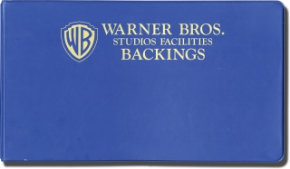 Warner Brothers Studios Facilities Scene Backings production folder, circa 1980s. Warner Brothers...