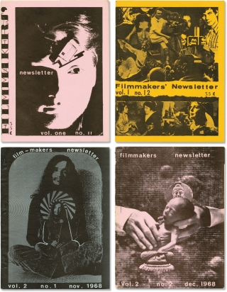 Archive of 41 issues of Filmmakers Newsletter, 1967-1971