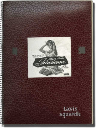 La Parisienne [une Parisienne] (Collection of 130 original photographs and 3 negatives from the...