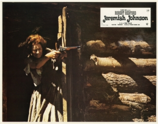 Jeremiah Johnson (Collection of 8 original lobby cards from the 1972 film). Sydney Pollack,...