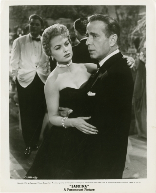 Sabrina (Two original photographs from the 1954 film). Billy Wilder, Samuel A. Taylor, Ernest...