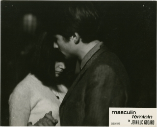 Masculin feminin (Collection of 6 photographs from the 1966 film). Jean-Luc Godard, Guy de...