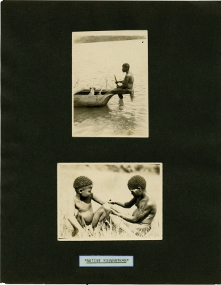 Archive of 163 original travel photographs, 1922-1927