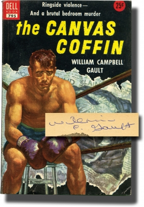 The Canvas Coffin (Signed Vintage Paperback). William Campbell Gault