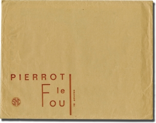 Pierrot le fou (Collection of 16 original lobby cards for the French release of the 1965 film)....