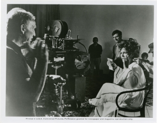 Boom! (Original photograph from the set of the 1968 film). Joseph Losey, Tennessee Williams,...