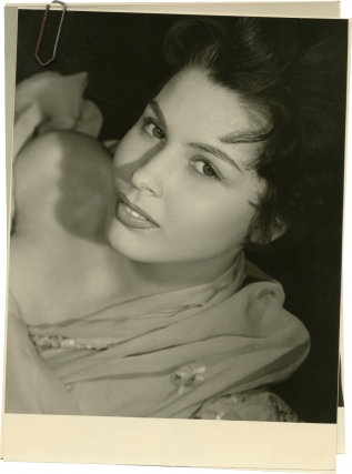 Dominique Boschero (Collection of 4 original glamour photographs, circa 1956). Dominique...