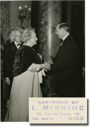 1957 Cannes Film Festival (Collection of 16 original photographs). Pierre Manciet, L. Mirkine,...