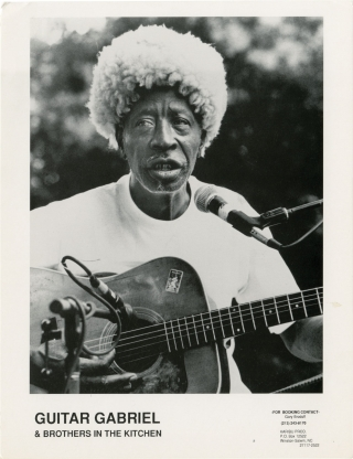 Collection of 10 original photographs of blues artists, circa 1970