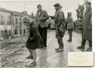 Il Grido (Original photograph from the set of the 1957 film). Michelangelo Antonioni, Ennio Ed...
