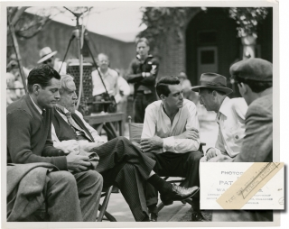 Night and Day (Original photograph from the set of the 1946 film). Michael Curtiz, Pat Clark, Leo...