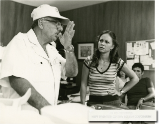 Norma Rae (Original photograph from the set of the 1979 film). Martin Ritt, Jacques Moreau,...