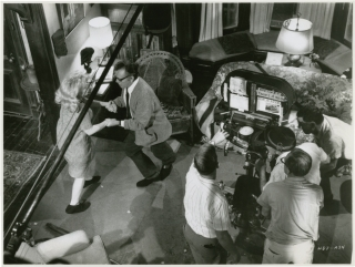 Who's Afraid of Virginia Woolf (Original photograph from the set of the 1966 film). Mike Nichols,...