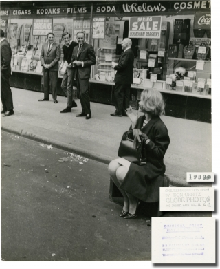 Original photograph of Henry, Peter, and Jane Fonda in New York City, circa 1965. Don Ornitz,...