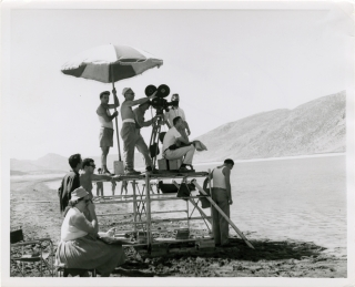 America America (Original photograph from the set of the 1963 film). Elia Kazan, Stathis...