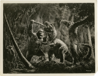 "Archive of production photographs for ""King Kong"""