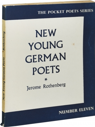 New Young German Poets (First Edition). Jerome Rothenberg