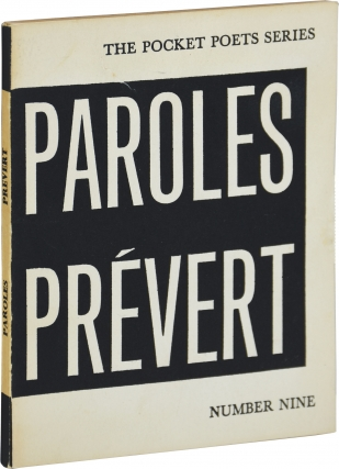 Selections from Paroles (First Edition). Jacques Prévert, Lawrence Ferlinghetti