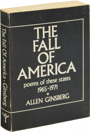 The Fall of America (First Edition, second state). Allen Ginsberg