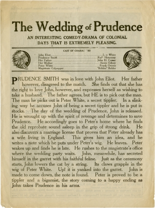 The Wedding of Prudence