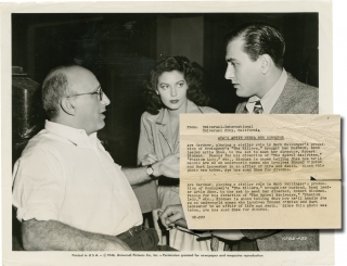 The Killers (Original photograph from the set of the 1946 film). Robert Siodmak, Ernest...