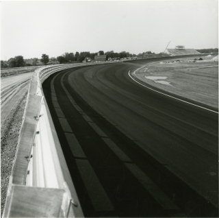 Construction of the Michigan International Speedway