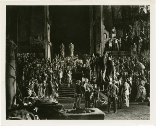 King Kong (Original double weight photograph from the set of the 1933 film). Merian C. Cooper,...