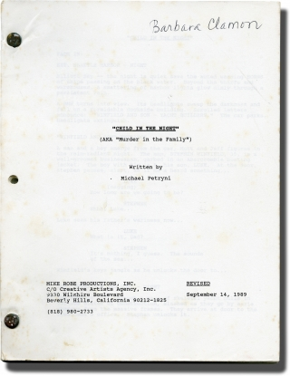 Child In The Night (Original screenplay for the 1990 television film). Mike Robe, Michael...