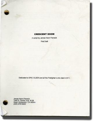 Crescent Doom (Original screenplay for an unproduced film). James Kevin Fenwick, screenwriter