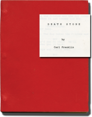 Death Stone (Original screenplay for an unproduced film). Carl Franklin, Cassius Weathersby,...