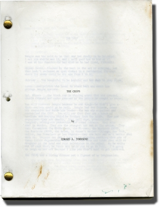 The Crips (Original typescript for an unproduced film). Edward A. Townsend