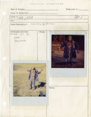 Dark Night of the Scarecrow [The Night of the Scarecrow] (Wardrobe department archive for the...