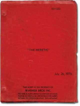 Exorcist II: The Heretic [The Heretic] (Original screenplay for the 1977 film). John Boorman,...