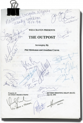 Mind Ripper [Wes Craven Presents: The Outpost] (Original screenplay for the 1995 film, round...