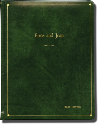 Ernie and Joan (Original screenplay for the pilot episode of an unproduced 1976 television series, presentation copy). Peter Baldwin, Norman Steinberg Elliot Shoenman, Candy Azzara Milt Kogan, Kit McDonough, director, screenwriters, starring.