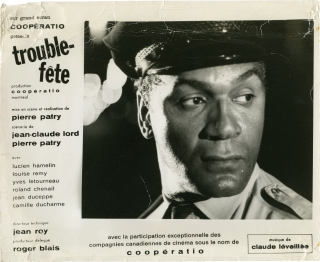 Troublemaker [Trouble-fete] (Original Canadian lobby card from the 1964 film). Pierre Patry,...