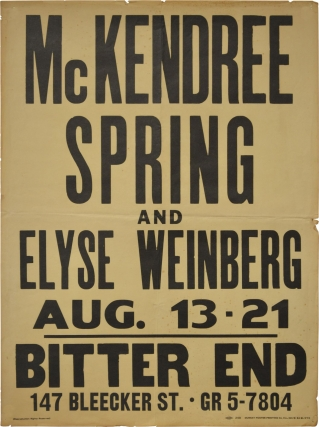Archive of McKendree Spring material from the estate of violinist Michael Dreyfuss