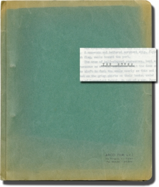 The Rover (Original treatment script for the 1967 film). Terence Young, Joseph Conrad, Luciano...